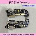 Para asus zenfone 2 lte ze500cl z00d usb puerto de carga junta ZE500CL Placa USB con Vibrador o sin vibrador Libre gratis