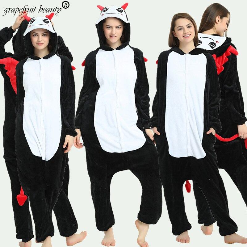 Autumn winter big bad Wolf pajamas for Unisex couples Cosplay animal coral fleece pajamas quality sleeping bag cartoon pajamas
