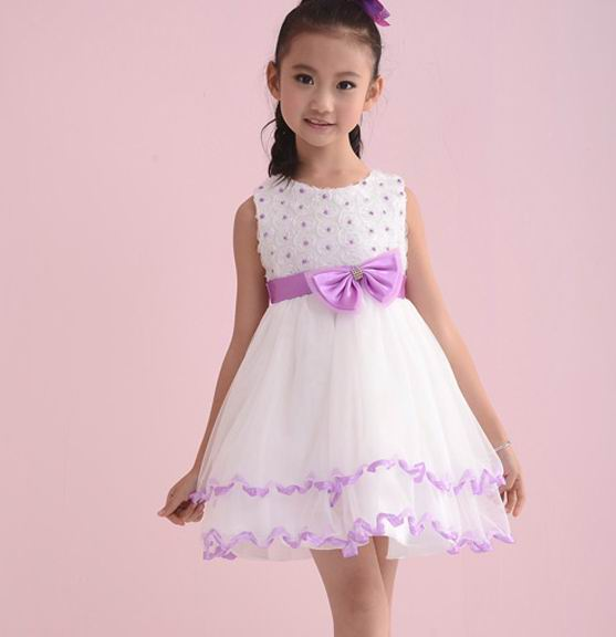 Female child summer 2016 princess rose lace one piece child formal tulle tank dress