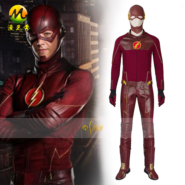 You the flash adult costume custom