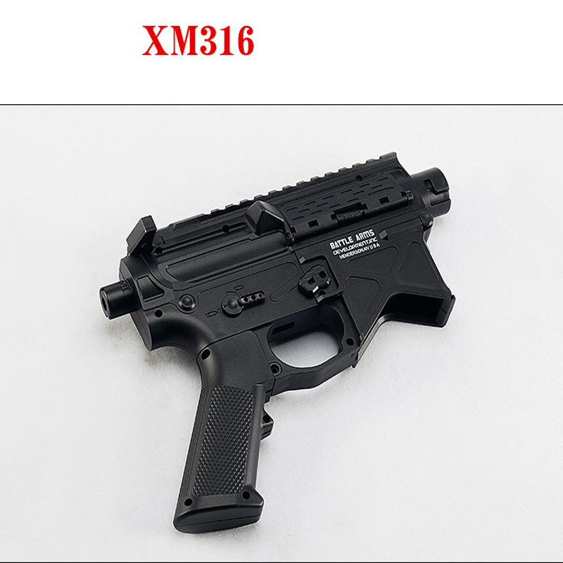 Gel ball guns JM8 replacing 556 casing to strengthen XM316 split shell Free assembly accessories Outdoor shooting game