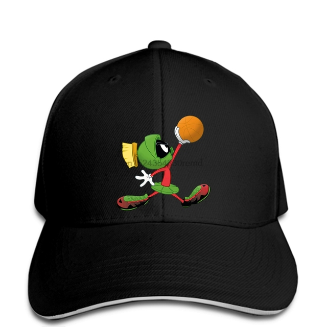 hip hop Baseball caps Funny Men hat cap Black Marvin The Martian s Men s cap ea71b9b4d1