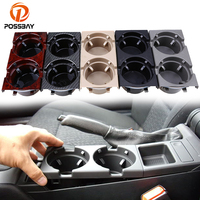 POSSBAY Car Cup Holder Portable Seat Armrest Cup Drinks Holders for BMW 3 Series 1997 2006 Car Interior Water Cup Mount