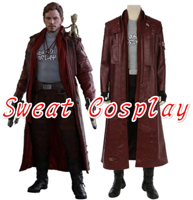 High Quality Star Lord costume Superhero cosplay Guardians ...