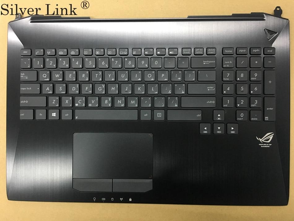 NEW AR Arabic keyboard for Asus G750 G750JH G750JM G750JS G750JW G750JX G750JZ with Backlit palmrest topcase AR Layout new persian keyboard for asus g750 g750jx g750jw g750jh g750jm fa laptop keyboard with backlit and palmrest upper