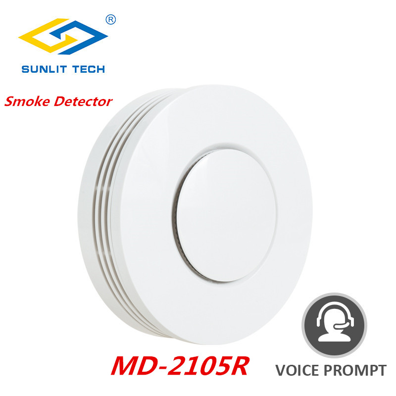 Wireless Fire Protection Smoke Detector Alarm Sensor For 433MHz/868MHz Standalone Smoke Sensor Compatible With Focus Alarm Host