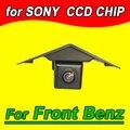 Color CCD HD Logo marca de la Cámara ccd del coche para Mercedes Benz Vito Viano A B C E F G GL GLK SLK CL SL R GLA CLA AMG