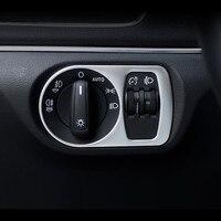 Auto Styling Dashboard Kopf Lampe Schalter Dekoration Rahmen Abdeckung Edelstahl Streifen Für Audi Q3 2013-2017 Auto Zubehör
