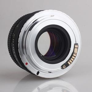 Сделано из медного M42-EF, электронный адаптер для объектива камеры AF, M42, резьбовой объектив для Canon EOS 450D 500D 550D 600D 60D 7D 5D DSLR