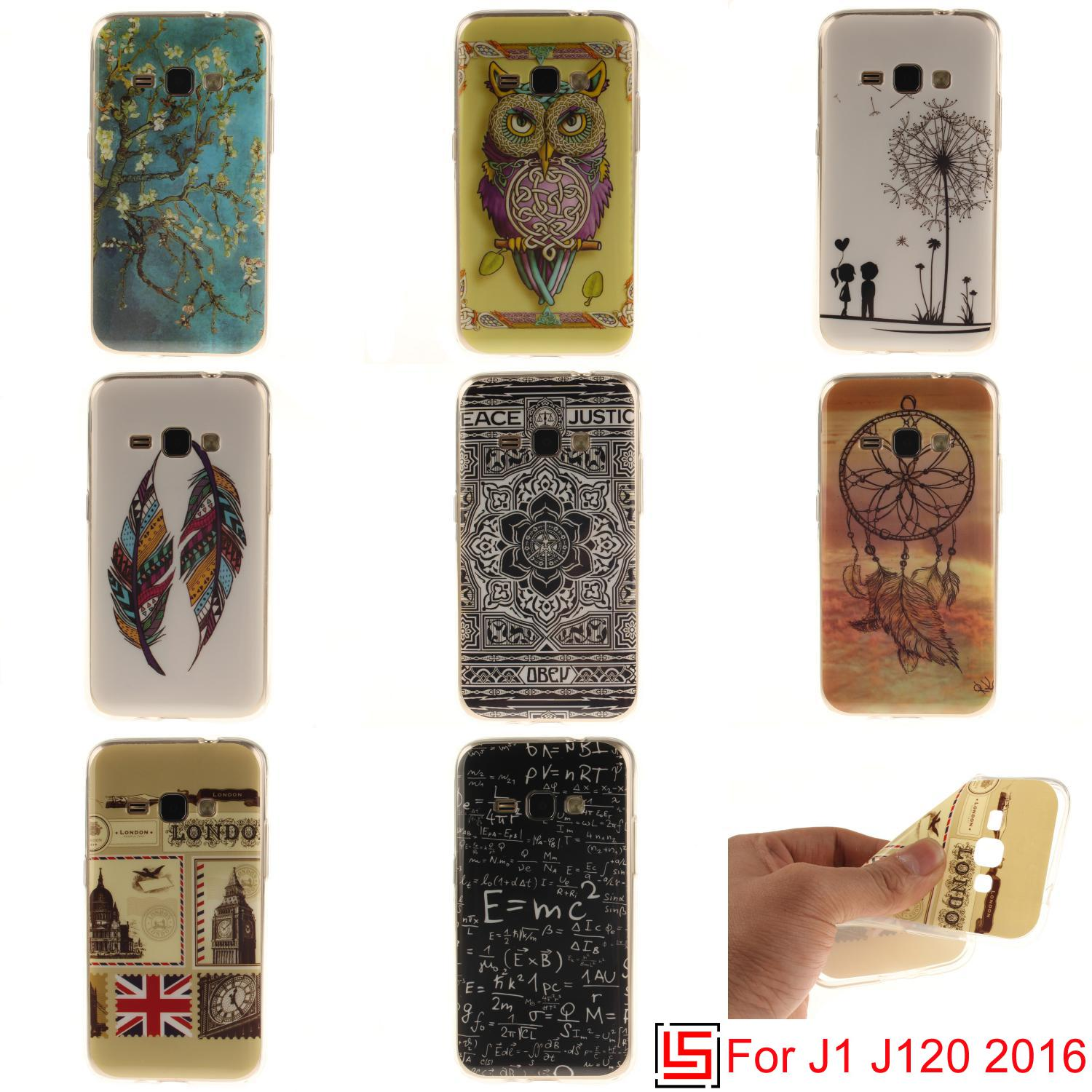 Cheap Beautiful New Ultra Thin TPU Silicone Soft Phone Mobile Cell Case Cover For Samsung Sumsang Sansung Galaxy J1 2016 J 120