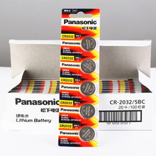 100 шт. бренд Новая батарея для цифрового фотоаппарата PANASONIC cr2032 3v кнопочная ячейка батарейки-таблетки для мобильного часо-компьютер cr 2032
