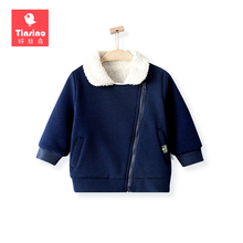 Tinsino Children Boys Winter Warm Parkas Baby Boy Autumn Thickening Coats Kids Spring Fashion Jackets Baby Ourterwear Clothing