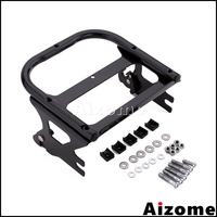 Motorcycle Two up Detachable Mount Luggage Rack For Harley Road King Road Electra Glide Standard Street Glide 1998 2007 2008
