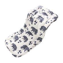 Складной Хлопковый чехол для детского сиденья дышащий коврик