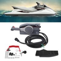 1Set Boat Outboard Engine Side Mount Remote Control Box with 10 Pin for Yamaha 703 4825 16