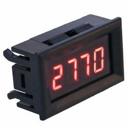 Cyfrowy RPM woltomierz 2 w 1 LED obrotomierz tester napięcia narzędzia dla silnik samochodowy prędkość obrotowa w Mierniki napięcia od Narzędzia na