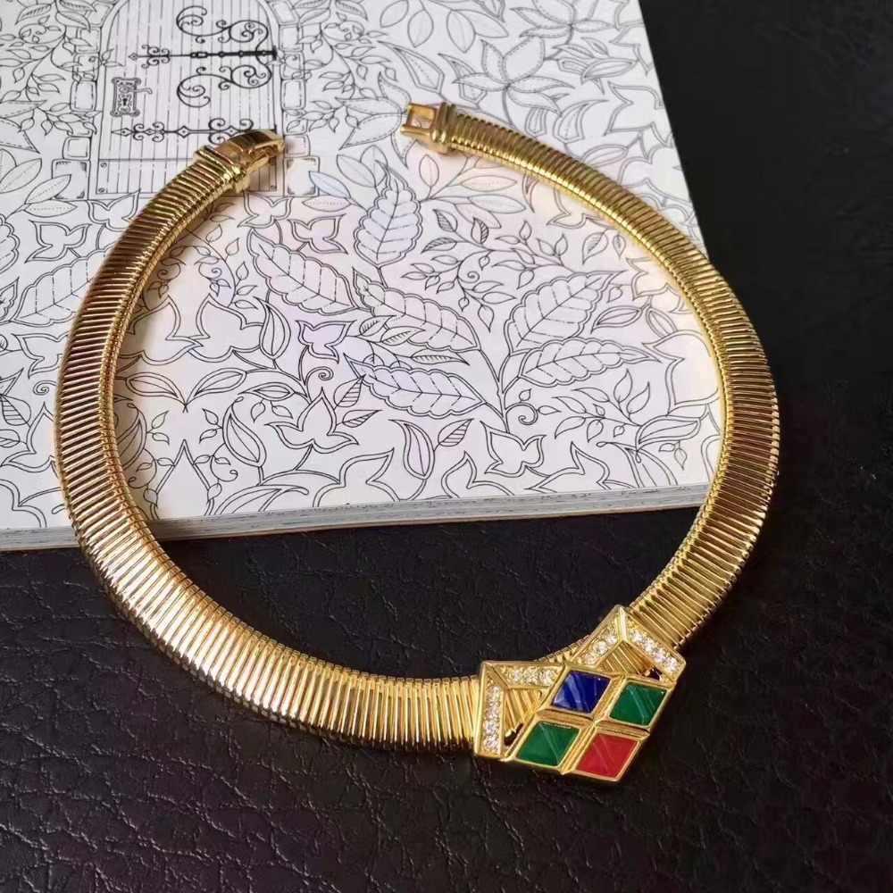 Amorita boutique thời trang đồ trang sức chuỗi vòng cổ con rắn
