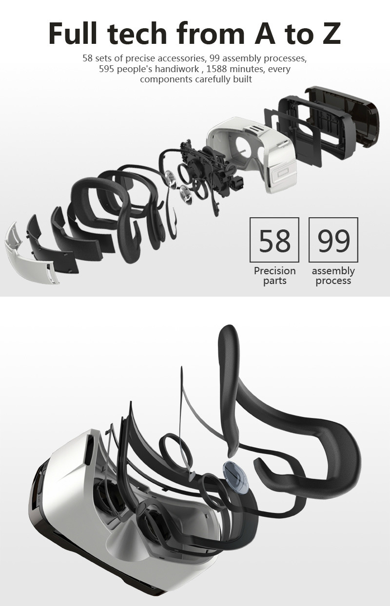 Virtual Reality Glasses VR Box Rirtual Reality Helmet Touch Function 3D Glasses VR Wearing Equipment 23