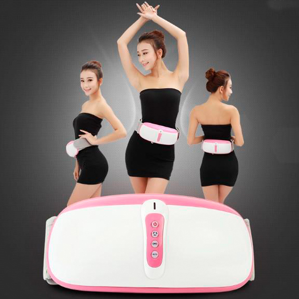 Hot!! Fat Burning Vibration Infrared Therapy Massage Belt Belly Vibrator Slimming Belt As Seen On TV Free Shipping 2015 xeltek private seat tqfp64 ta050 b006 burning test
