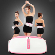 Hot!! Fat Burning Vibration Infrared Therapy Massage Belt Belly Vibrator Slimming Belt As Seen On TV Free Shipping 2015