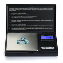 Mini Precision Digital Scale Jewelry Gold Silver Coin Gram Pocket Size Display Pocket Electronic Scales(500gx0.1g)