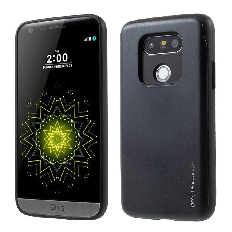 Mercury Goospery чехол для LG G5 и G5 SE В виде ракушки небо раздвижные Гибридный держателя карты Телефонные Чехлы для LG G 5 мешок мобильного телефона (TPU +…