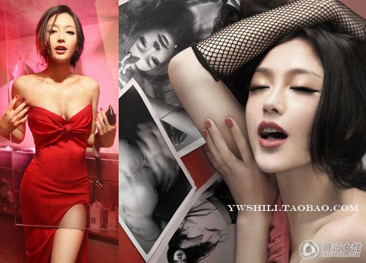 Горячие девушки сексуальные хип-хоп панк сетчатые красные перчатки для ночных клубов
