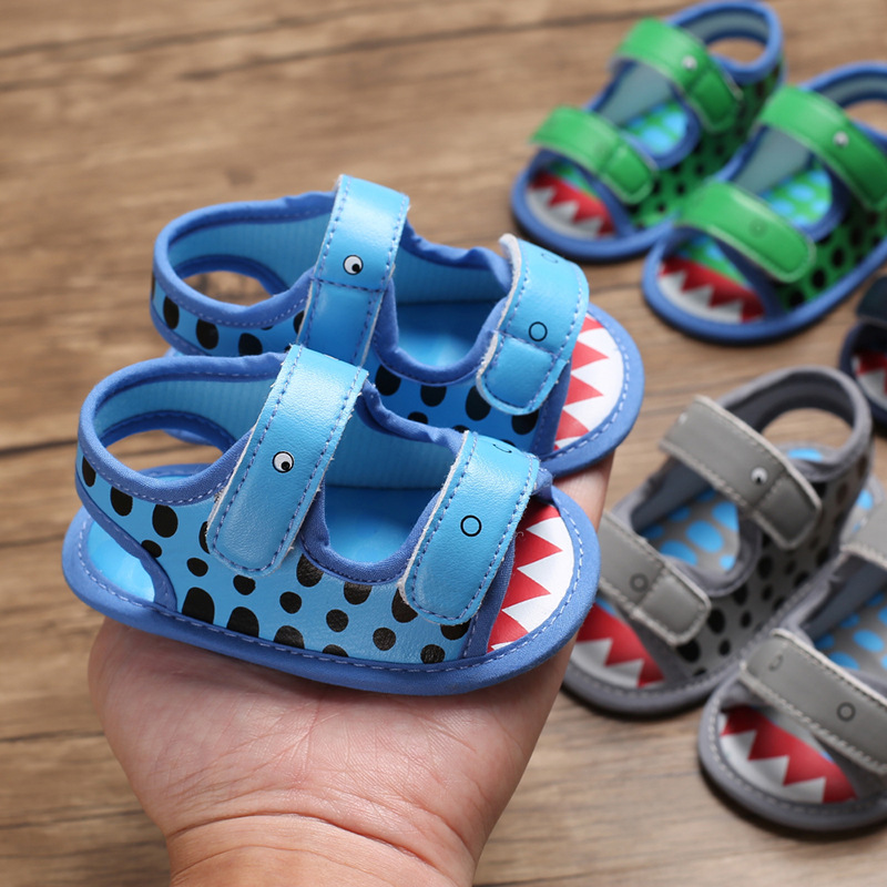 New Summer Style New Baby Boys Sandals  Infant Toddler Shoes Soft Bottom Canvas Summer First Step Shoes