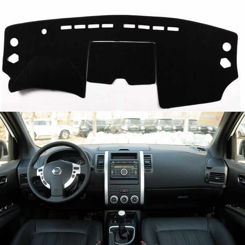 Anti-uv Dashboard Cover Dashmat Mat Pad Auto Styling Zonneklep Shade Tapijt Voor Nissan X-Trail Xtrail X Trail t31 2008-2012 2013