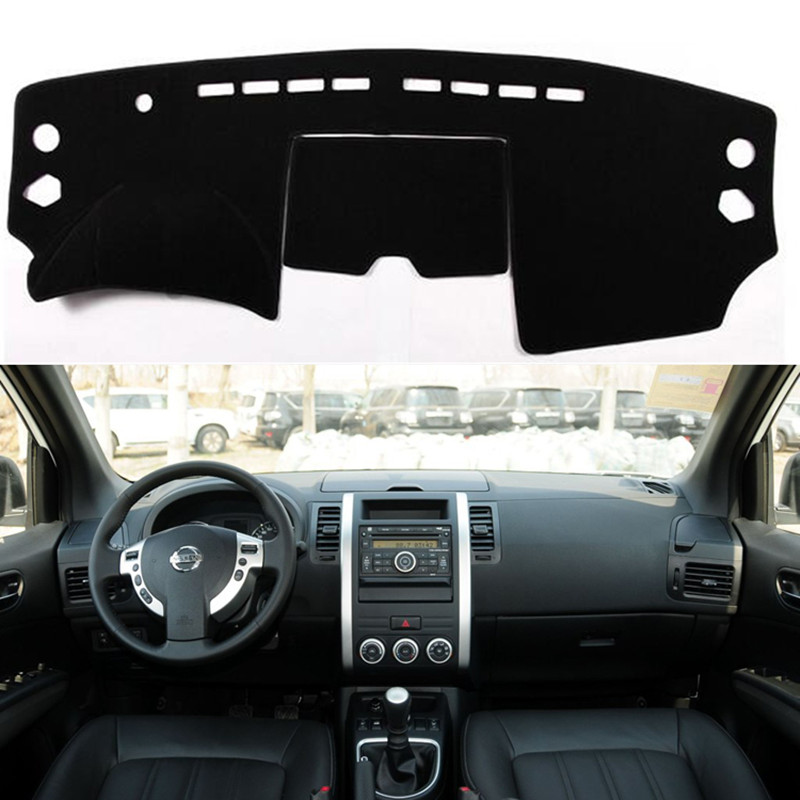 Anti-UV Dashboard Cover Dashmat Mat Pad Car Styling Sun Visor Shade Carpet For Nissan X-Trail Xtrail X Trail T31 2008 -2012 2013 for peugeot 3008 5008 2016 2017 2018 2019 leather dashmat dashboard cover car pad dash mat sunshade carpet cover car