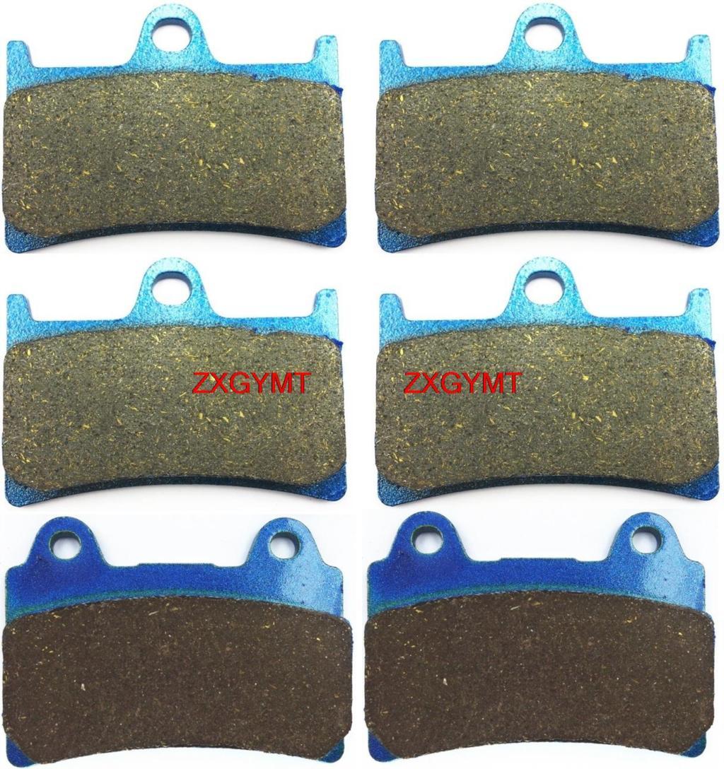 Motorcycle Semi Metallic Brake Pads fit for YAMAHA XV1700 XV 1700 Road Star Warrior 2002