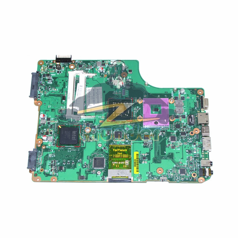 V000198120 6050A2323101-MB-A01 for toshiba satellite A500 A505 laptop motherboard GM45 DDR2 цена