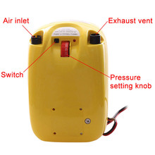 high pressure DC 12V electric air pump for inflatable boat dinghy raft sup surf board stand up paddle