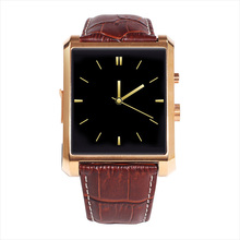 HD Scratchproof Waterproof Bluetooth Stainless Steel Smart Watch DM08 for Apple IPhone ISO Android with Camera