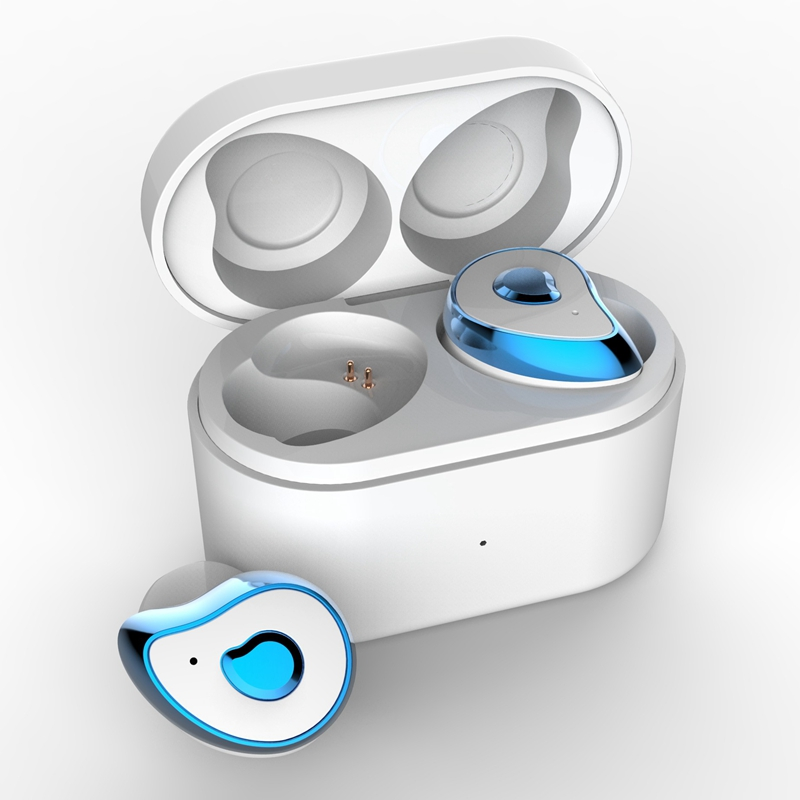 Mini jumeaux écouteurs sans fil SE6 stéréo Bluetooth 5.0 longue veille mains libres casques avec boîte de chargement Dock écouteurs