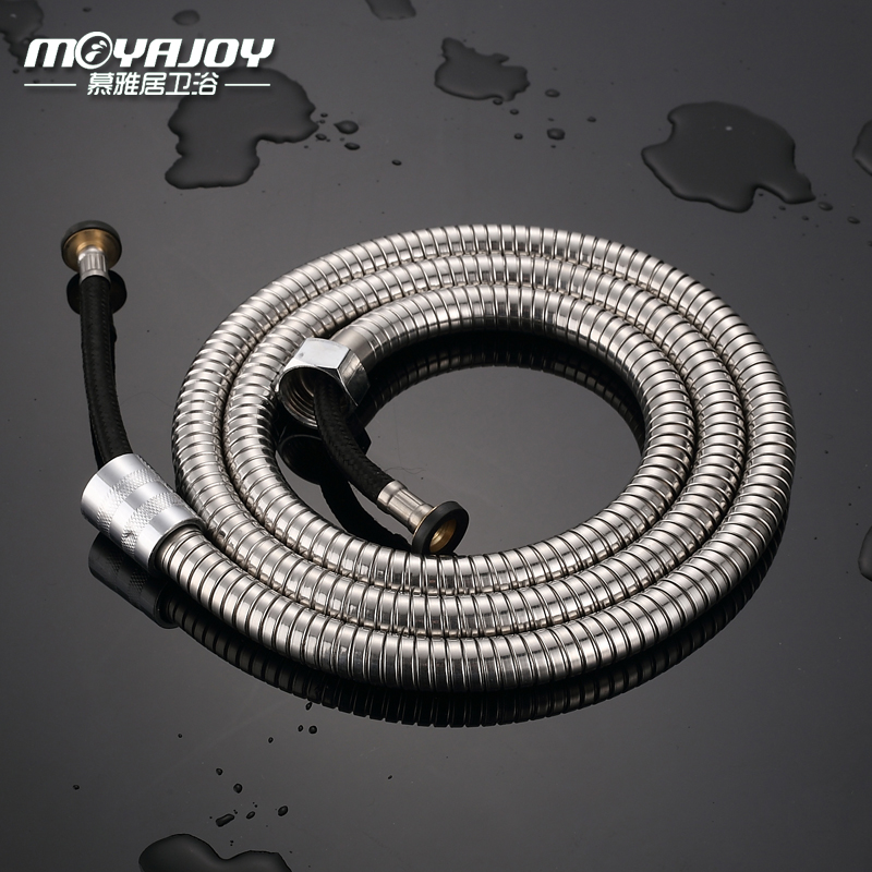 2015 New Arrival Top Fashion 150cm Mangueira De Led Stainless Steel Shower Hose Nozzle Pull 1.5 Meters Water Heater Fittings