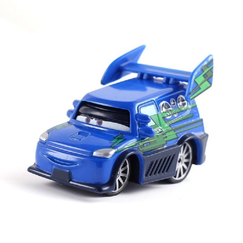 Disney Pixar Cars 2 & Cars 3 DJ With Flames Metal Diecast Toy Car 1:55 Loose Brand New In Stock Free Shipping