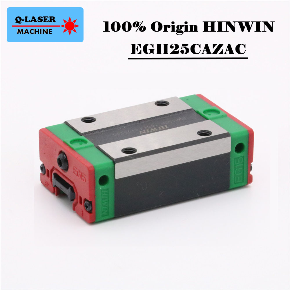 Taiwan Hiwin Rails linar Square Sliders EGH25CAZAC Bearing Block Carriage for CNC Machine Parts цена