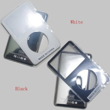 For iPod video Black White 30GB 60GB 80GB 128GB 256GB back cover + front cover case