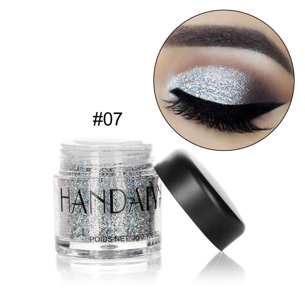 HANDAIYAN Holographic Lantejoula Diamante Colorido Glitter Gel Brilhante Sereia Corpo Festival Em Pó Pigmento Maquiagem Cosméticos TSLM1