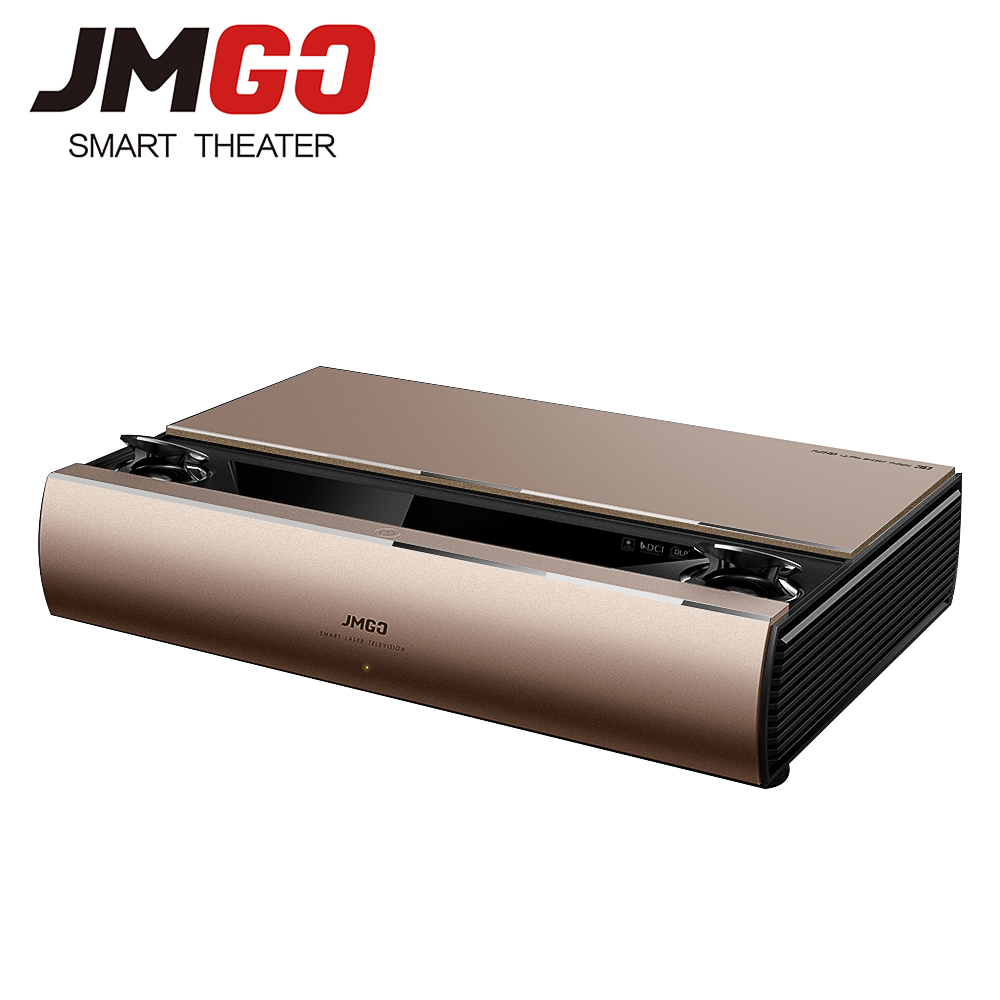 JMGO SA, Laser Projector, 1920x1080 Resolution, 2200 ANSI Lumens, Full HD Android Beamer, WIFI Proyector, HDMI Bluetooth Speaker ...