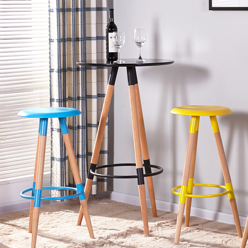 furnitureThe bar chair,Bar chair,The fashion leisure bar stool,High stool the bar chair hairdressing pulley stool swivel chair master chair technician chair