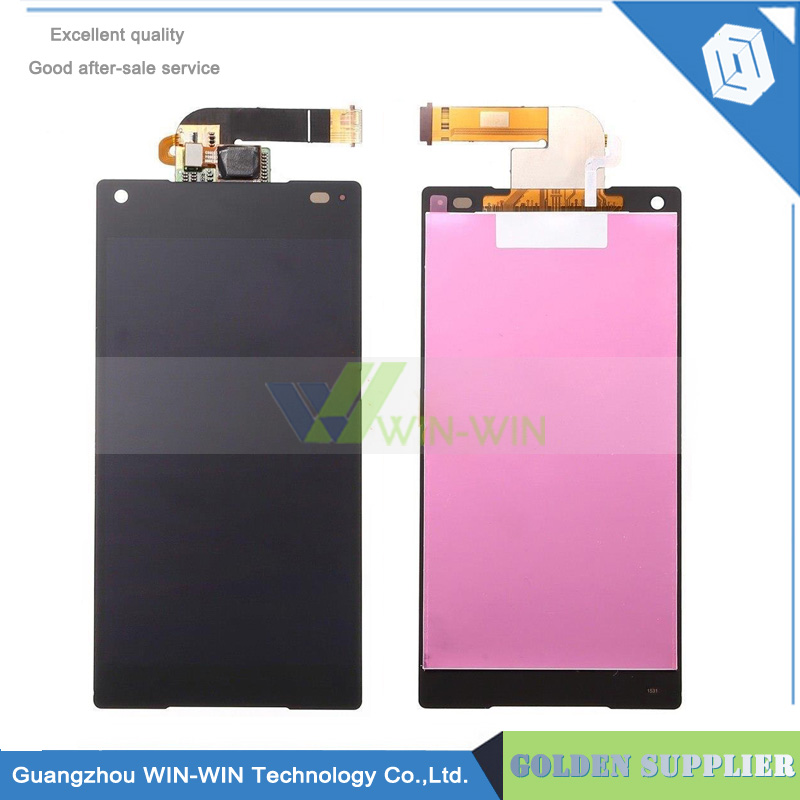 4.6''Original For Sony Xperia Z5 Compact LCD Display +Touch Screen Digitizer Assembly Replacement Z5 Compact Z5 mini E5803 E5823 for sony for xperia z2 lcd screen display digitizer assembly replacement for d6503 d6502 d6543