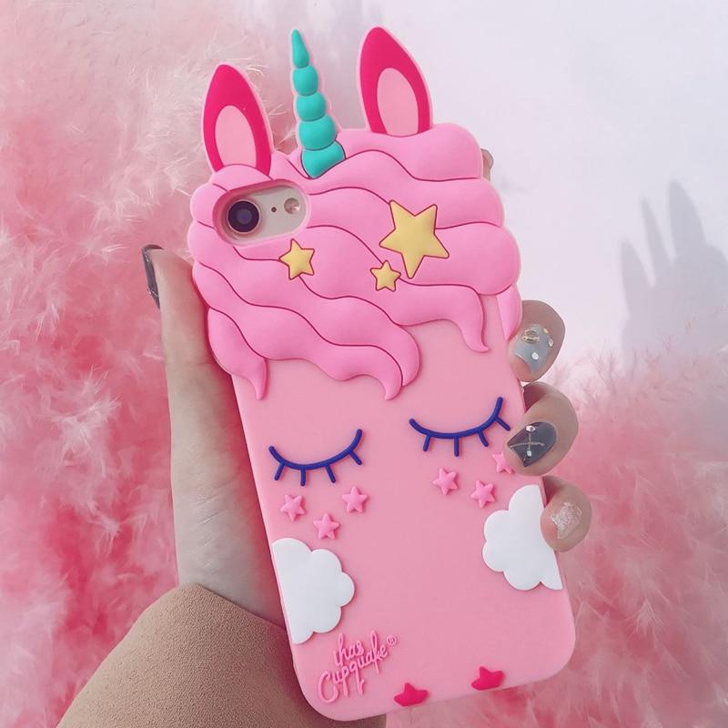 Lady Unicorn Bunny Phone Case Cover