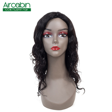 Brazilian Human Hair Wigs Machine Natural Short Wigs Non Remy Hair Body Wave Wig For Black Women Aircabin Wigs For Women