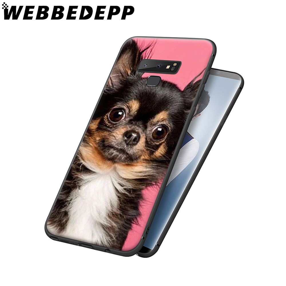 WEBBEDEPP Cute Chihuahua Puppy Dog Soft Case for Samsung Galaxy A3 A5 A6 Plus A7 A8 A9 J6 Cover in Fitted Cases from Cellphones Telecommunications