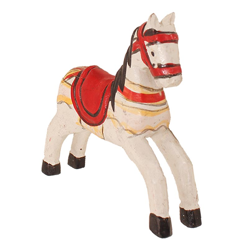 Hot Haolive Wooden Painted Trojan Horse Diy Wooden For Party Diy