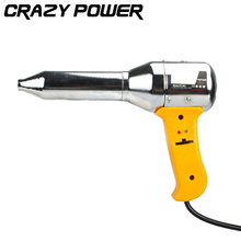 CRAZY POWER 220V-240V/ 700W Blister Adjustable Hot Air Gun Soldering Station Sludge Softening Paint Electric Heat Gun