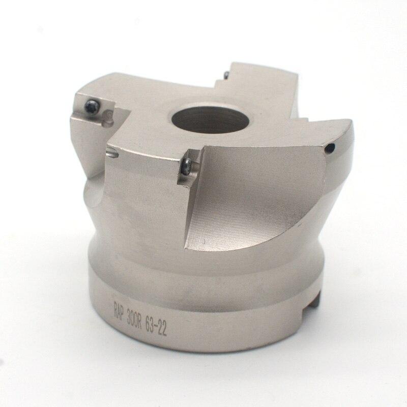 ספיישל SILVERLIT RAP 300R 50-22-4T / RAP300R 63-22-4T 75 תואר חיובי Face מיל ראש CNC גַיֶצֶת, טחינה פגז הכנס קרביד טחנת הפנים (1)