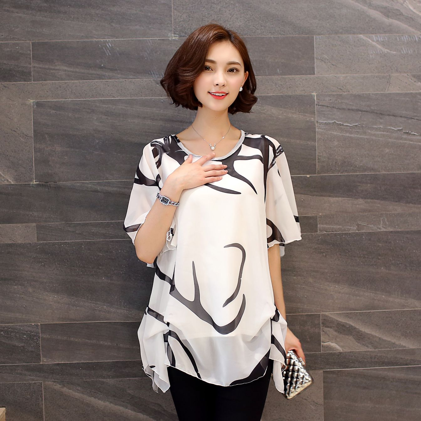 9d5ec89afc422 Buy fat women blouse and get free shipping on AliExpress.com